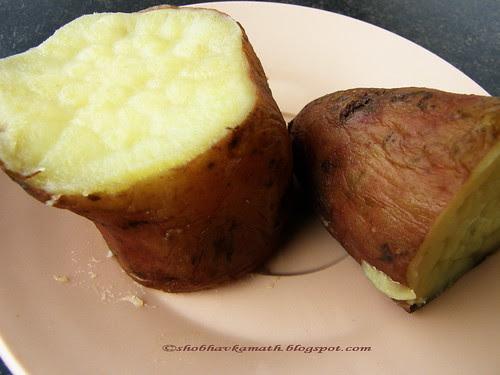 Sweet Potato - boiled 1