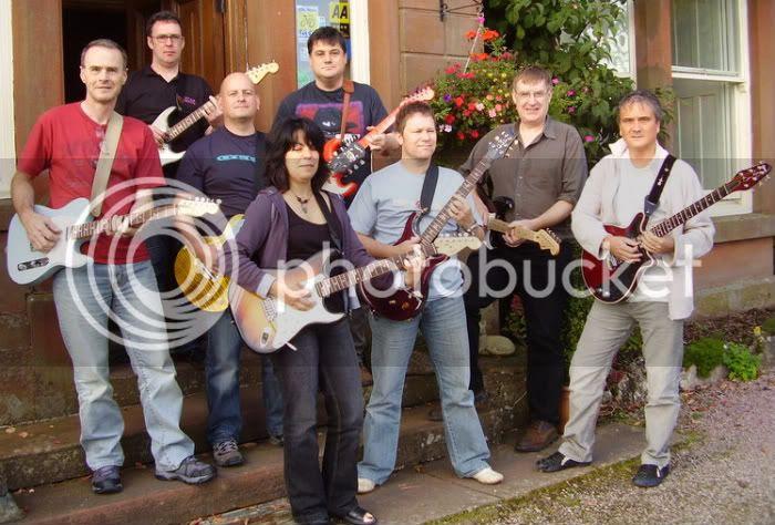 Guitar Weekends - Rock Weekend group 26-28 September 2008