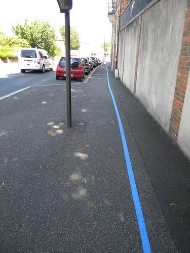 Blauwe lijn