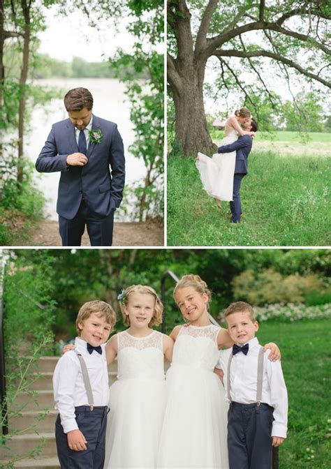 Amy & Grant: A Breezy Outdoor Wedding in Blush and Navy