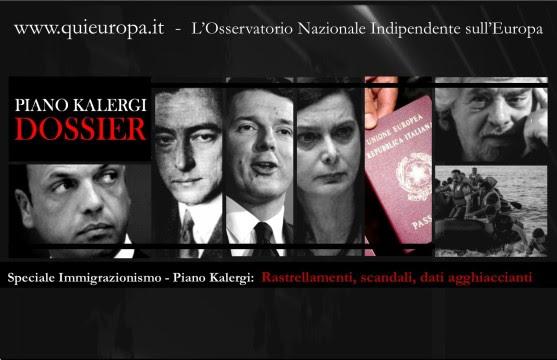 Speciale Immigrazionismo-Piano Kalergi - Rastrellamenti, scandali, dati agghiaccianti