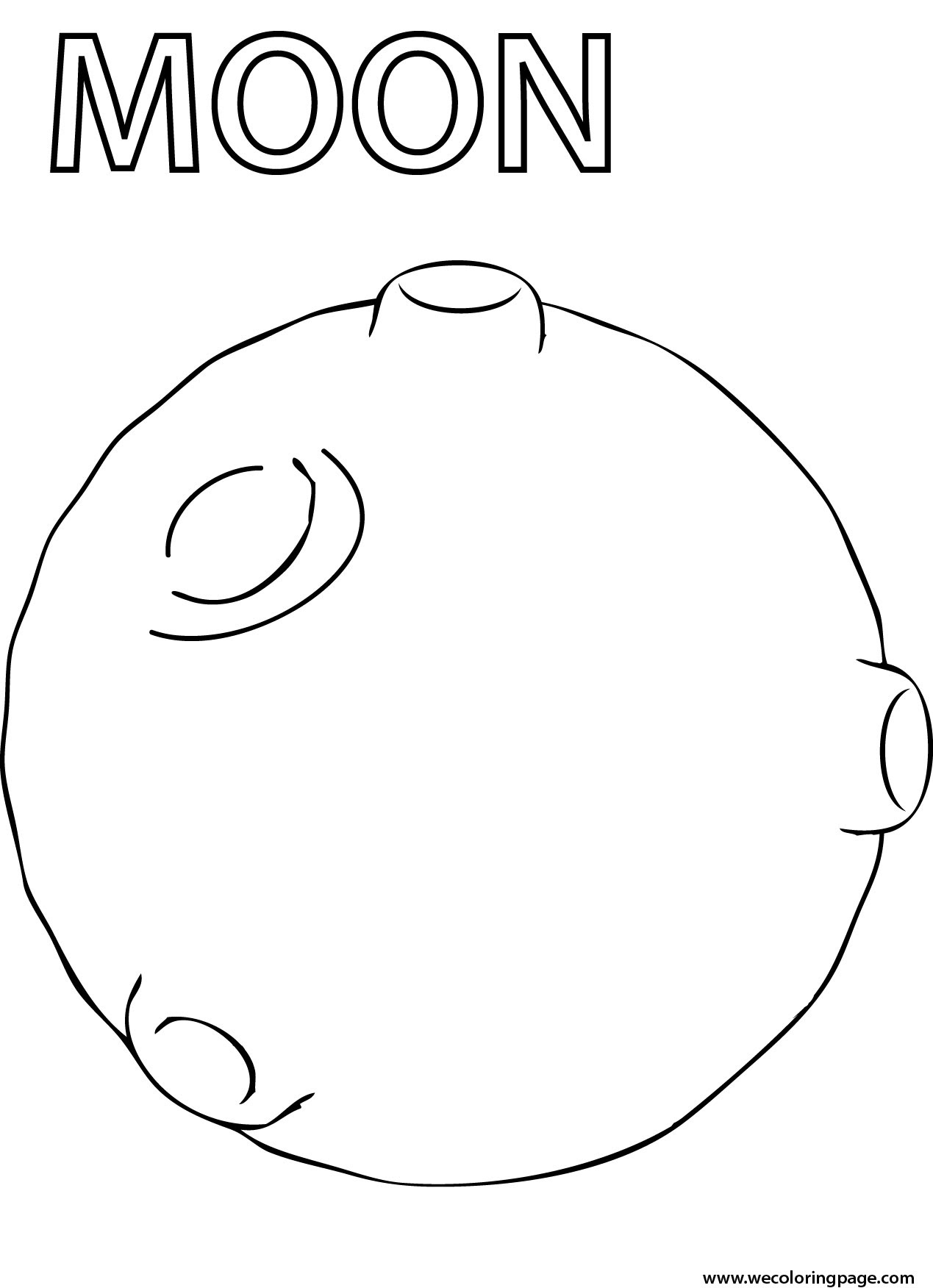 Moon Phases Coloring Pages - jeffersonclan