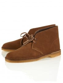 Topman Clarks Original Brown Desert Boots