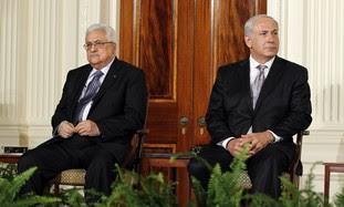 Prime Minister Netanyahu and PA President Abbas