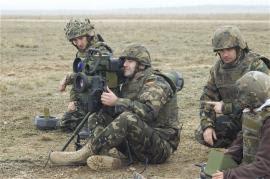 Futuros tenientes y sargentos ejecutaron el tiro