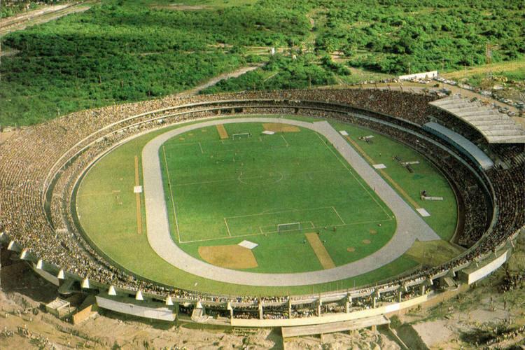 Em 1972, no dia de sua inauguração, o estádio Machadão recebeu lotação máxima, quando ainda não tinha cobertura no anel superior