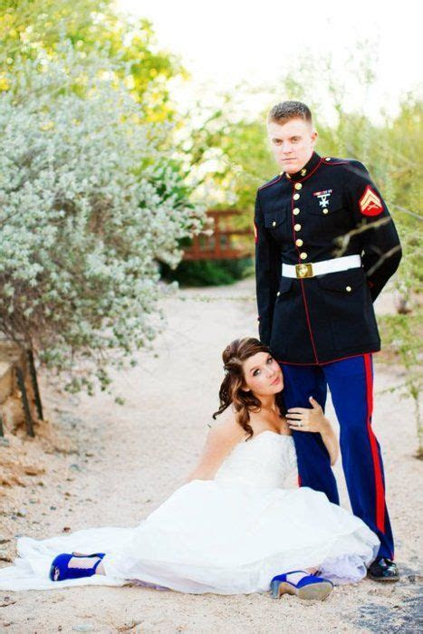 marine wedding picture   Ideas   Pinterest   Wedding