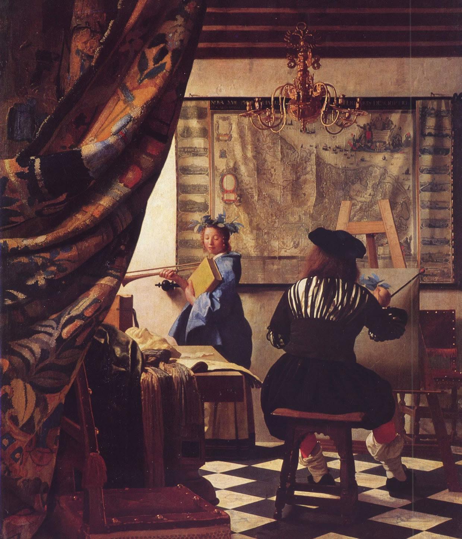 The Art Of Painting By Johannes Vermeer, 1666-1673