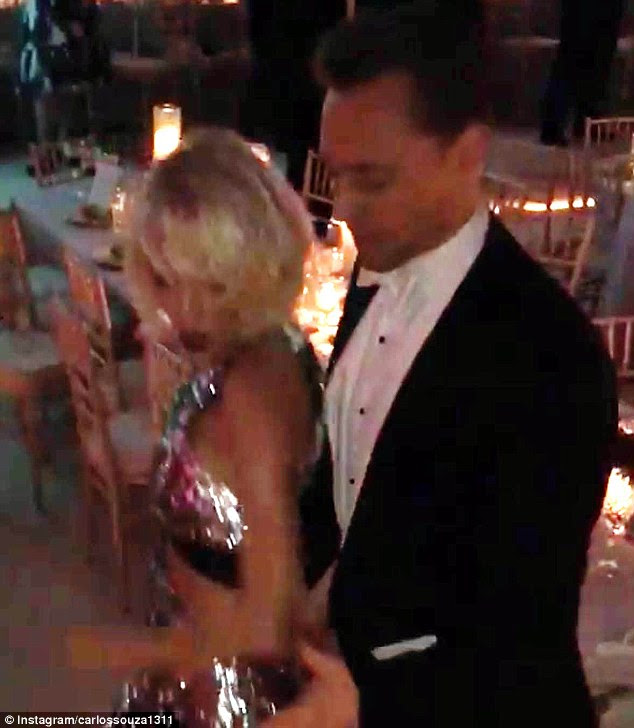 Not their first rodeo: Last month, Tom and Taylor were captured dancing together at the Met Gala