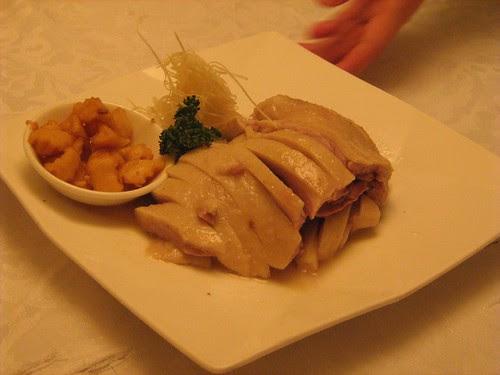Boneless goose in Shin Yeh restaurant
