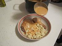 bone in chicken and dumplings