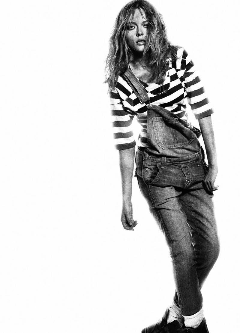 Fashion editorial, Fashion model