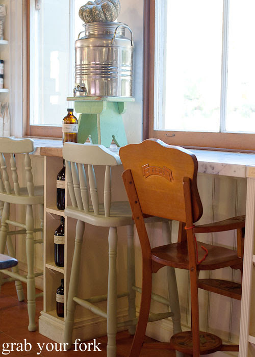 high chairs at pasta emilia surry hills