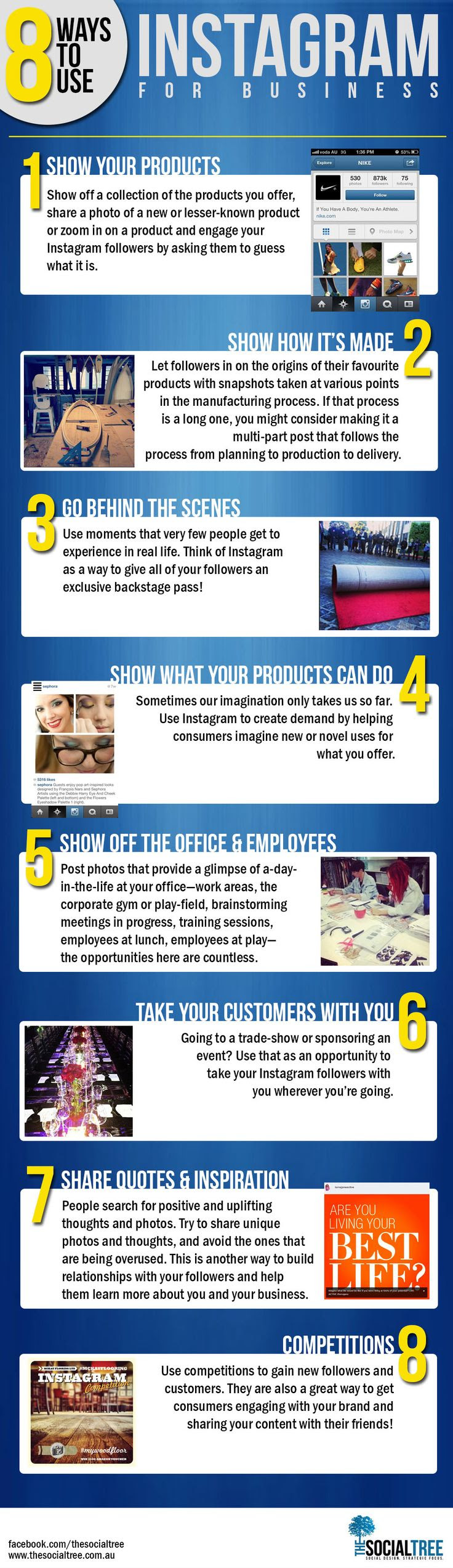 8 Ways to Use Instagram for Business