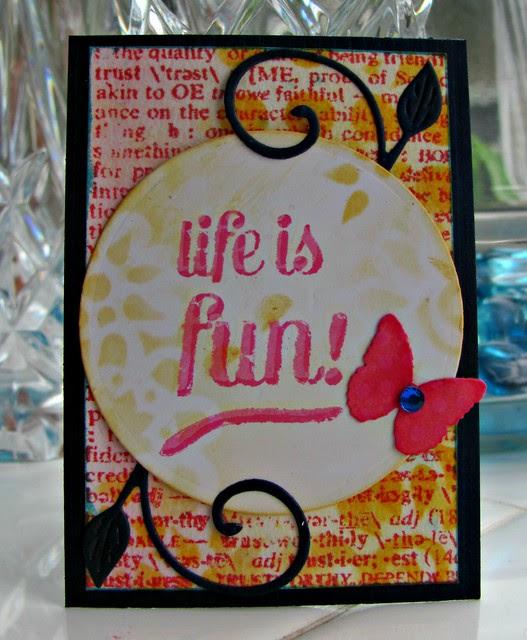 Life is Fun ATC