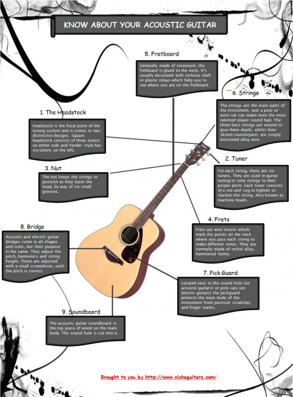 Know About Your Acoustic Guitar