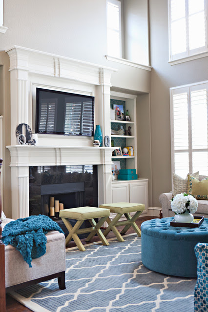 Kid Friendly & Fabulous - eclectic - living room - dallas - by ...