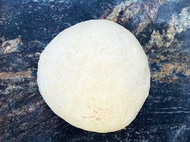 Deflated Dough Gathered into Ball