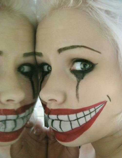 Halloween Makeup... yep, it's Freaky and SCARY!