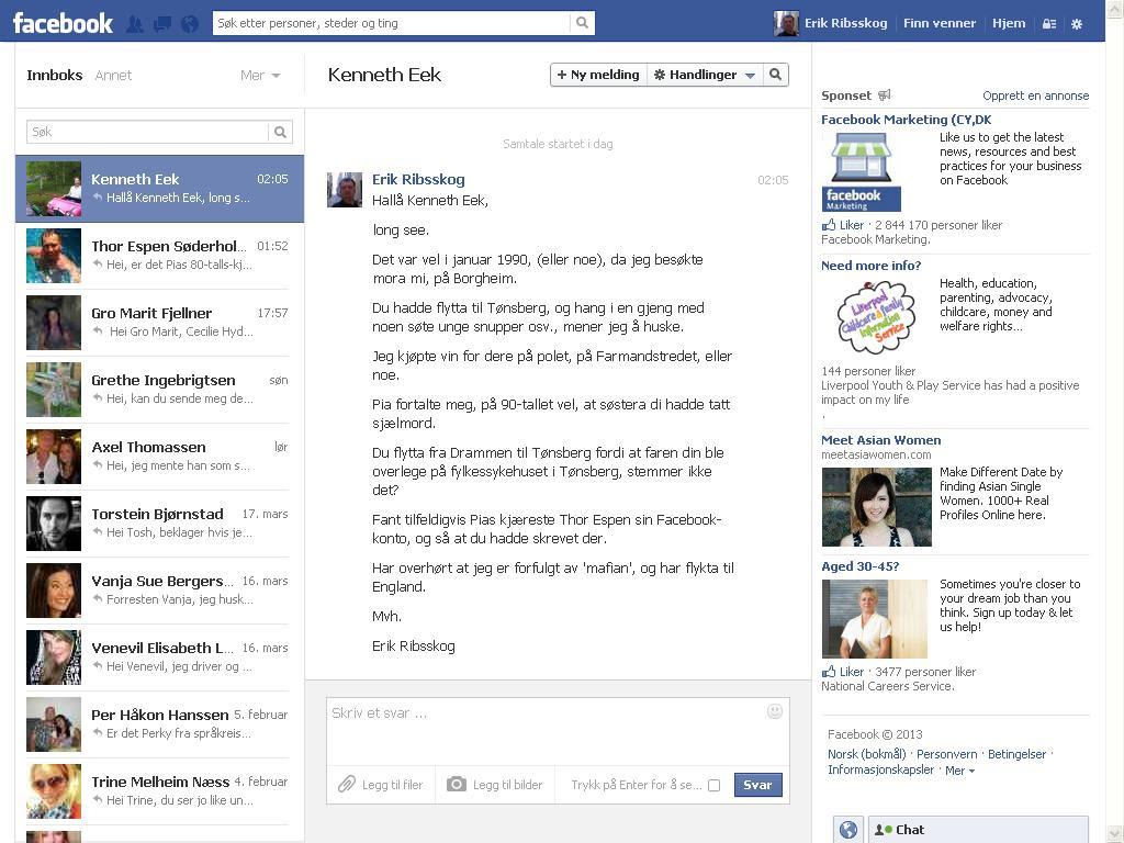 kenneth eek facebook