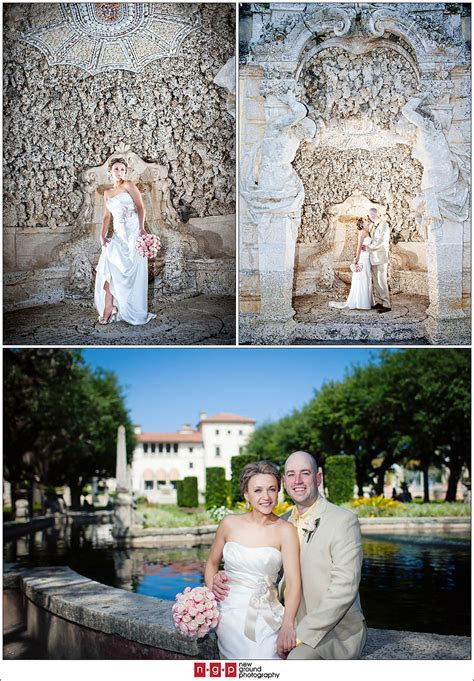 Vizcaya Gardens   Lana   Scott   South Beach Miami Wedding