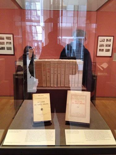 First editions of Proust's masterpiece, À la recherche du temps perdu