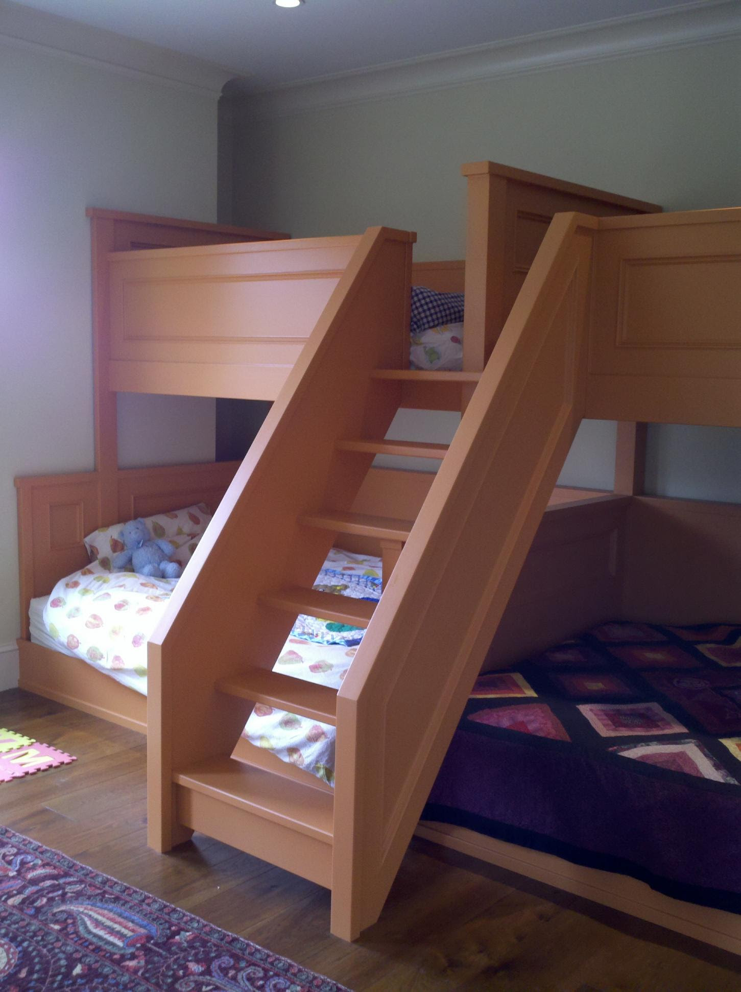 Quad Bunk Bed Plans