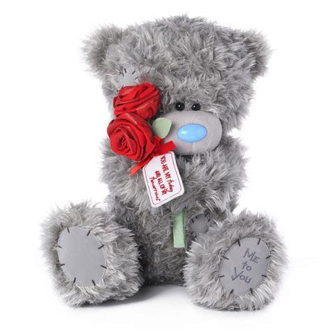 """12"""" Rose Bouquet Me to You Bear (VPD01002) : Me to You"""