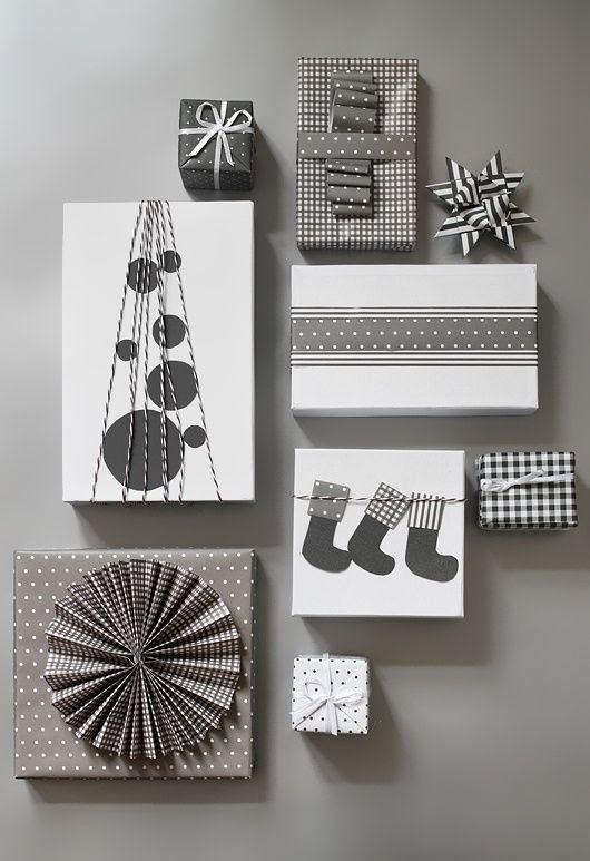 Christmas gift wrapping DIY by dakota moone