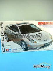 Maqueta de coche 1/24 Tamiya - Toyota Celica GT-S   - maqueta de plástico