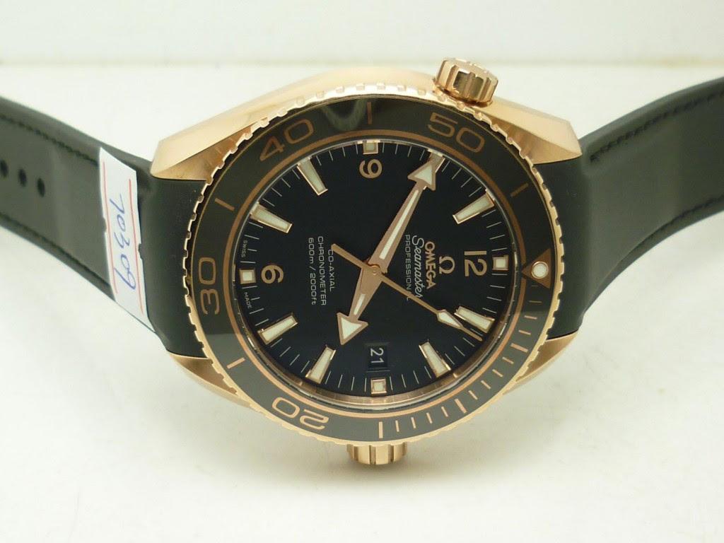 Replica Omega Planet Ocean Rose Gold Watch