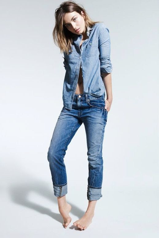 Le Fashion Blog 11 Ways To Wear Denim On Denim Inspiration Andreea Diaconu Jean Shirt Skinny Jeans Via J Crew Lookbook photo Le-Fashion-Blog-11-Ways-To-Wear-Denim-On-Denim-Inspiration-Andreea-Diaconu-Jean-Shirt-Skinny-Jeans-Via-J-Crew-Lookbook.jpg