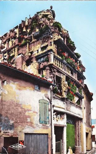 De l'art improbable aux jardins insolites dans l'Aude et les environs,art singulier,art brut,art naïf,bâtisseur,sculpture,peinture,art modeste,récupération,accumulation,art populaire,outsider