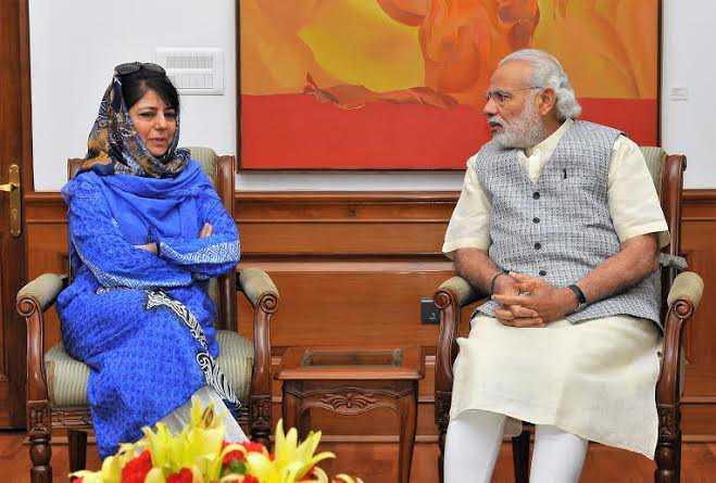 J&K deadlock: Meeting with PM Modi 'positive', says Mehbooba Mufti