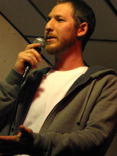 Prescott Tolk at Entertaining Julia at Town Hall Pub 9-6-09