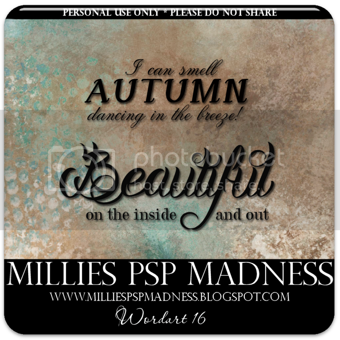 millies psp madness freebie wordart 16 and tag featuring