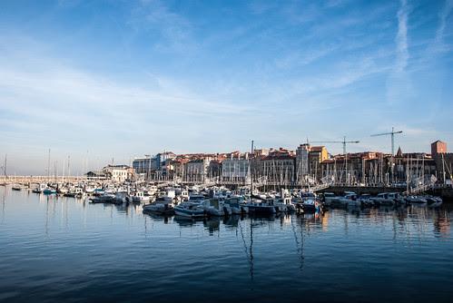 Gijón, el puerto