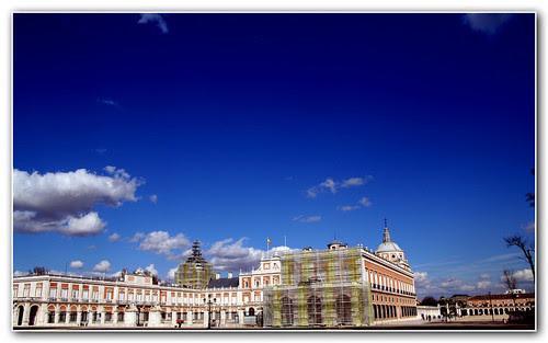 Aranjuez: el palacio con obras