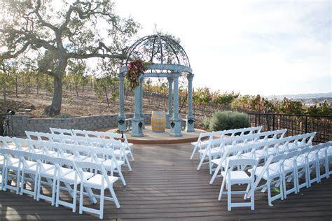 Fall Wedding Napa Meritage Resort Vineyard Deck   Meritage