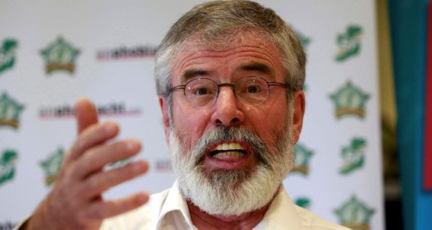 "Sinn Féin President Gerry Adams: ""I am not Eamon Gilmore. Sinn Féin is not the Labour Party."" Photograph: Cathal McNaughton/Reuters"