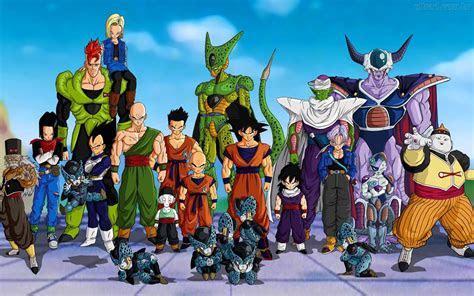 Dragon Ball Z Android Saga wallpaper 213460