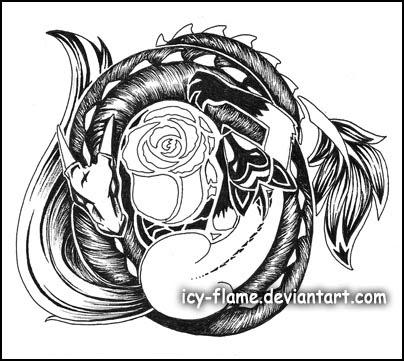 tribal tattoo dragon. mens tribal tattoos celtic