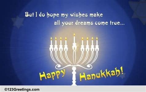 Happy Hanukkah Wishes  Free Happy Hanukkah eCards