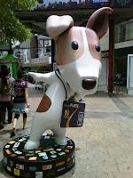 Smart Purse mascot dog