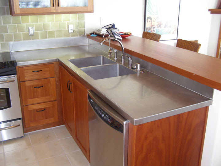 Crown Steel Mfg Stainless Steel Copper Steel Zinc Countertops