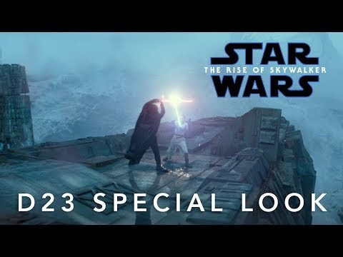 Star Wars : The Rise Of Skywalker   D23 Special Look