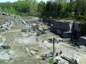 Two Buildings Major Granite Company Sealed