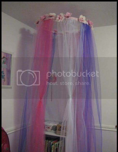 Boobearybinks Tutorial Dreamy Tulle Bed Canopy