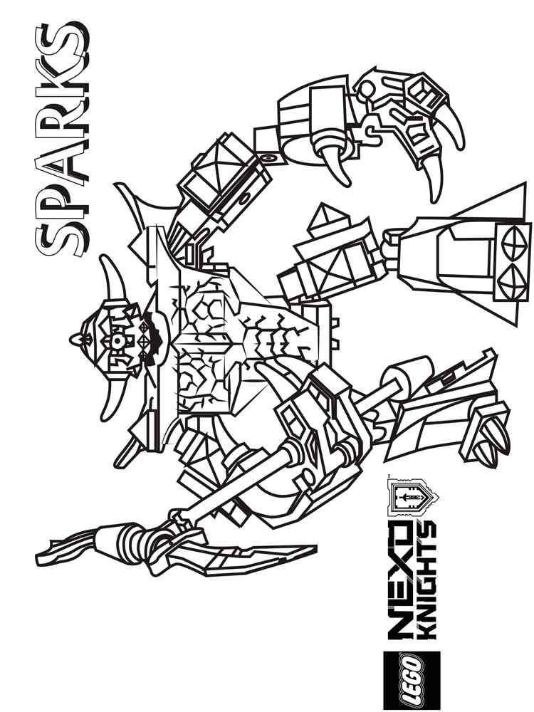 rapia abang tuo11 nexo knights kleurplaat clay zwaard