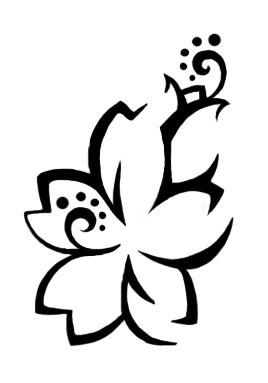 Art of Hawaiian Tattoos With Image Hawaiian Flower Tattoo Designs Picture 10